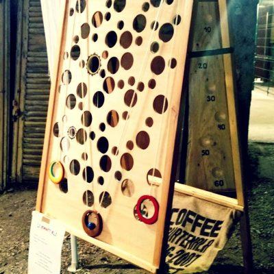 Jeux en bois d'adresse