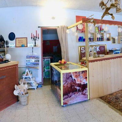 Aven grotte forestière boutique, accueil et snack panoramique