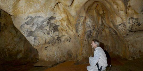 Visite de la véritable grotte Chauvet avec Jean-Marie, Eliette et Christian les inventeurs